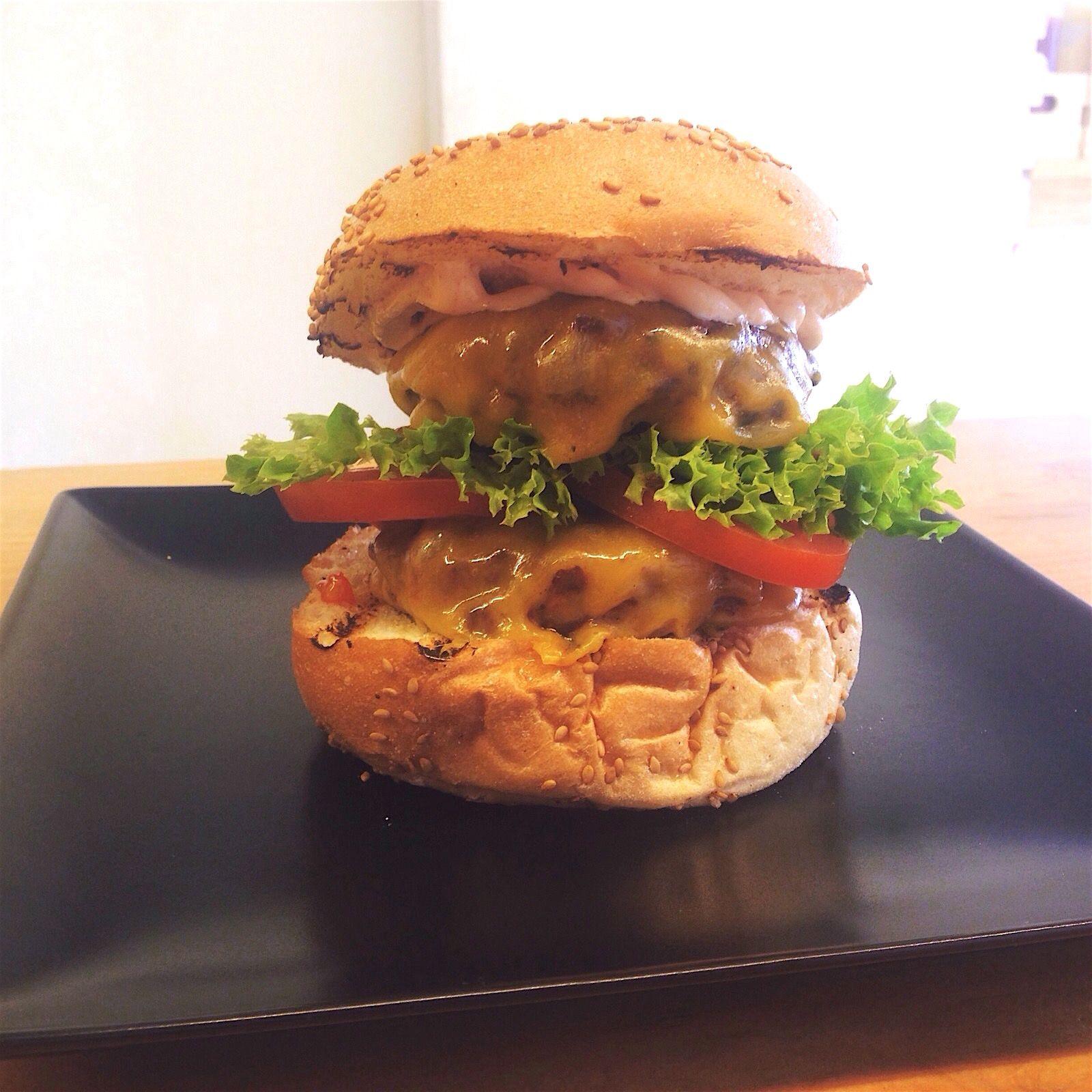 Double Delicious Black Angus Burgers Pinterest Angus Burger - Black hamburger