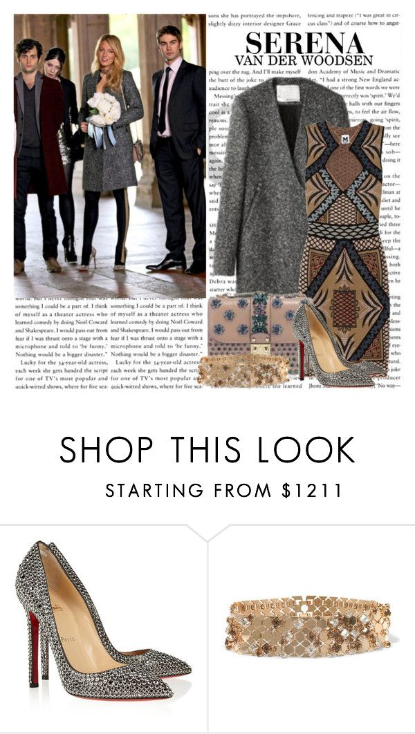 """""""GOSSIP GIRL STYLE: Serena Van Der Woodsen"""" by itshanilove ❤ liked on Polyvore featuring Christian Louboutin and Lanvin"""