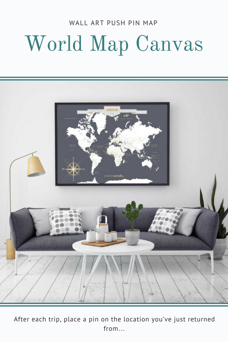 Push pin travel map world travels map map art world map canvas push pin travel map world travels map map art world map canvas gumiabroncs Image collections