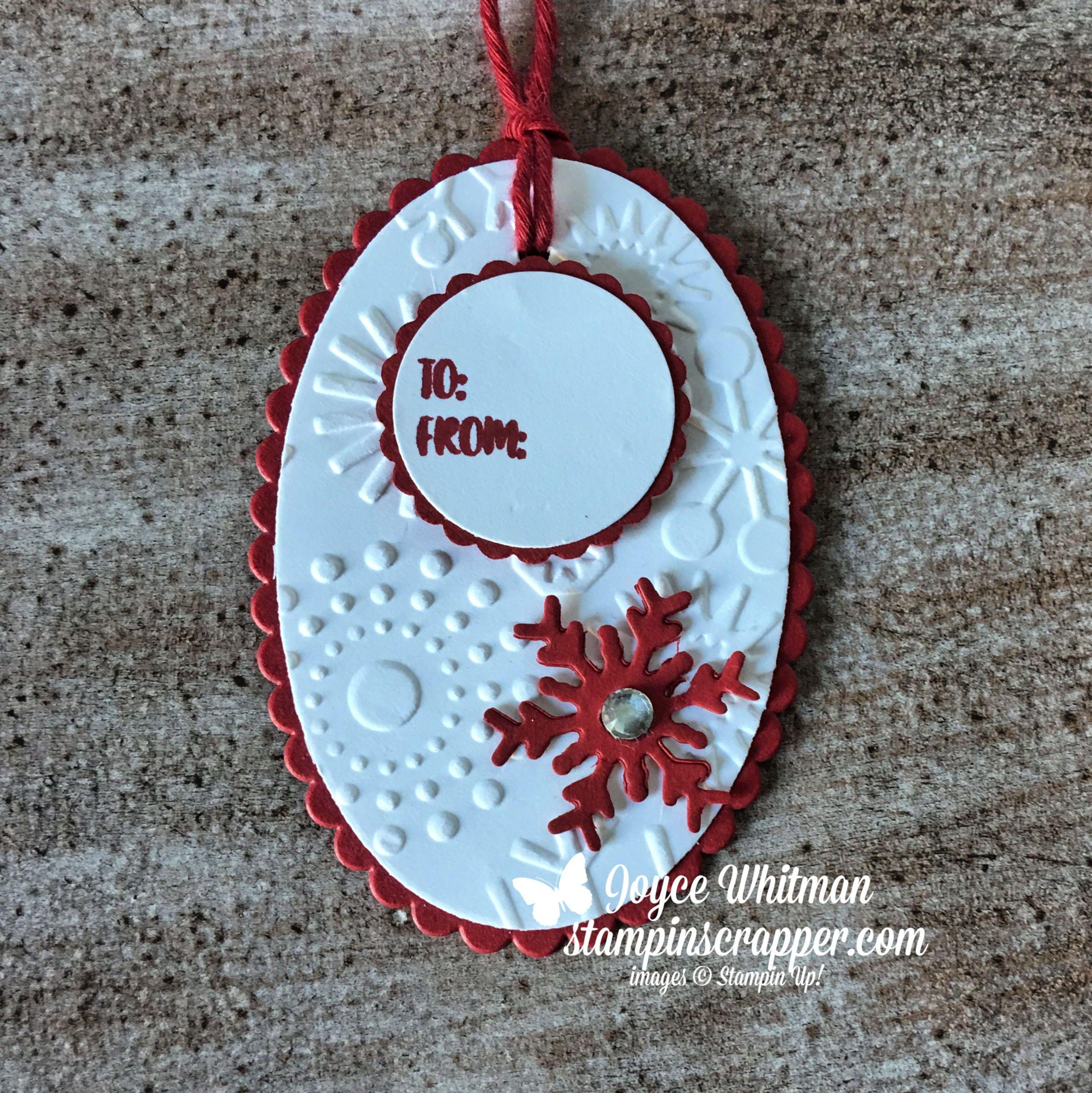Gift Tag Kit Makes 8 Tags DIY Tags