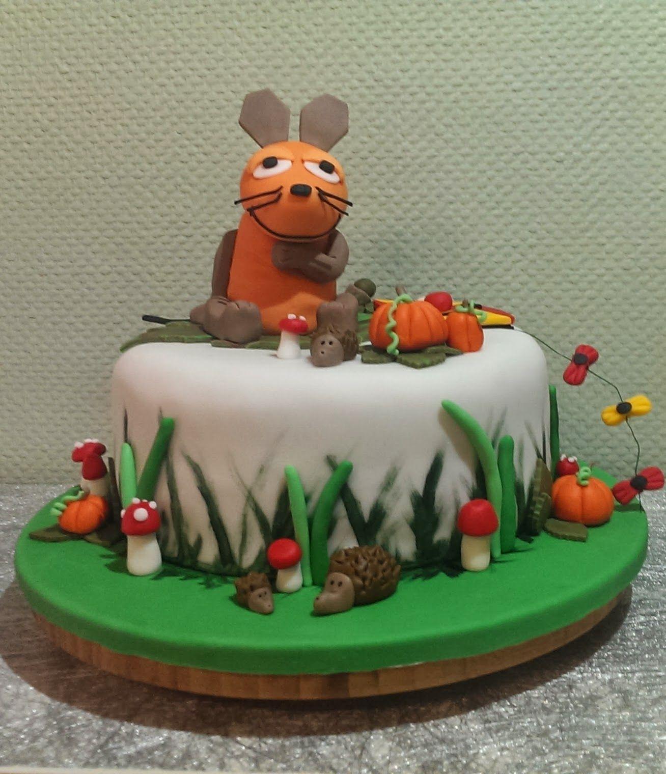 Maus kuchen backen