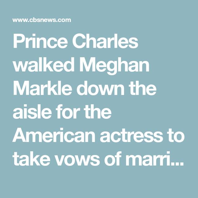 Royal Wedding: Prince Harry, Meghan Markle Marry At