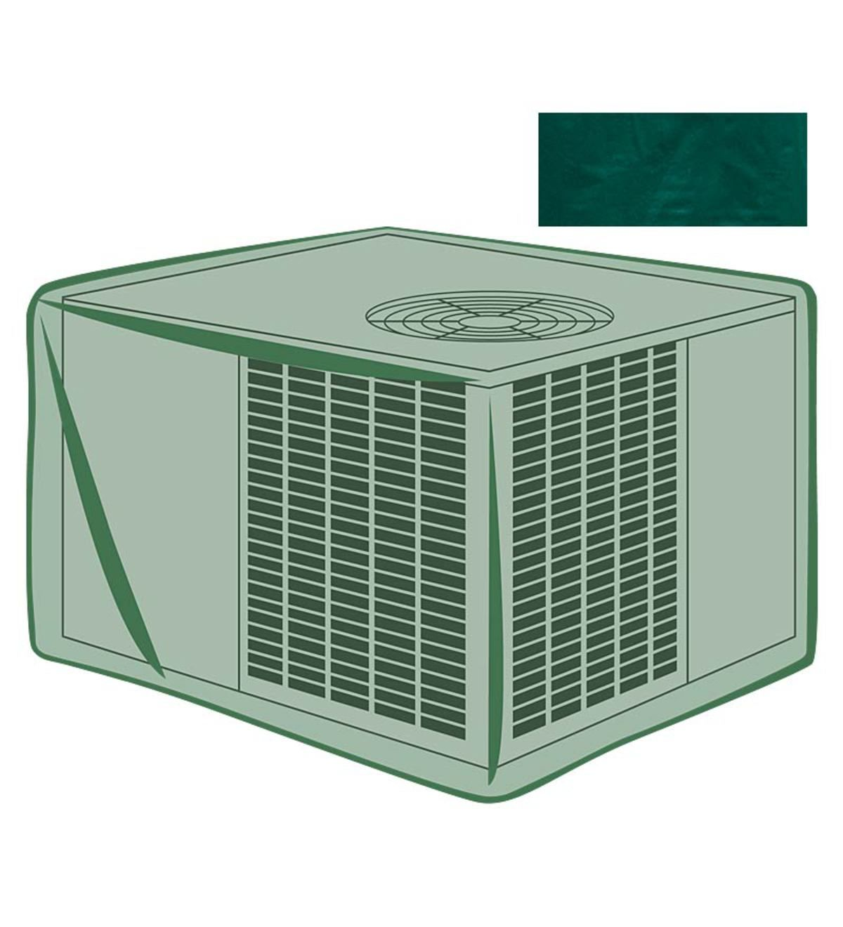Our allweather air conditioner cover will help keep your