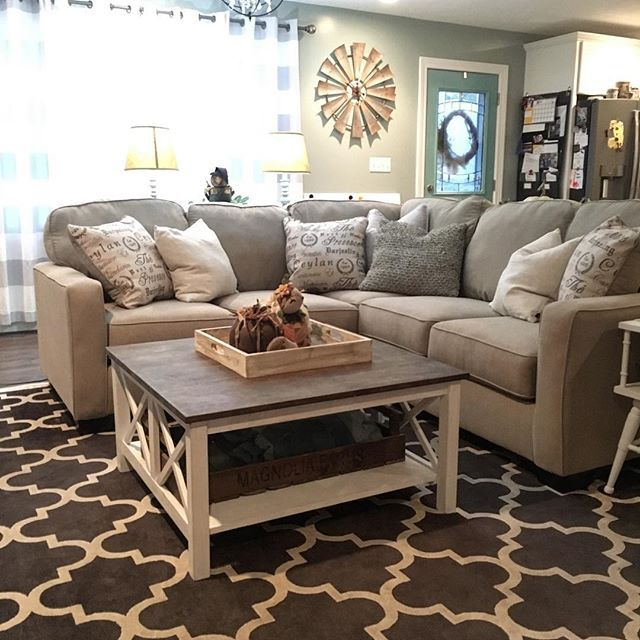 Alenya 2 Piece Sectional By Ashley Homestore Tan Living Room