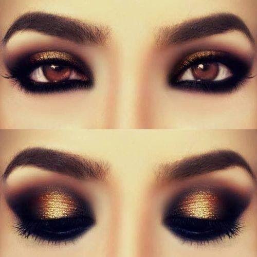 Smokey eye makeup · smokey eyes for brown ...