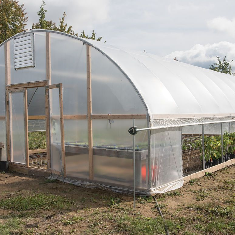 Quick Hoops Elliptical High Tunnel Bender Johnny S Selected Seeds Greenhouse Farming Greenhouse What Is Greenhouse