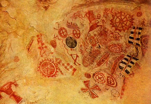 Ice Age Cave Paintings Altamira Spain The Altamira paintings found - what is presumed