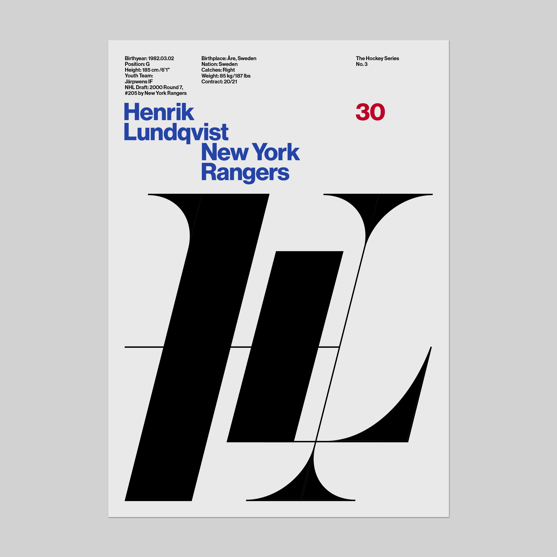 Poster design 50x70 - Kurppa Hosk The Hockey Series Team Sweden 2016 World Cup 50x70 Poster