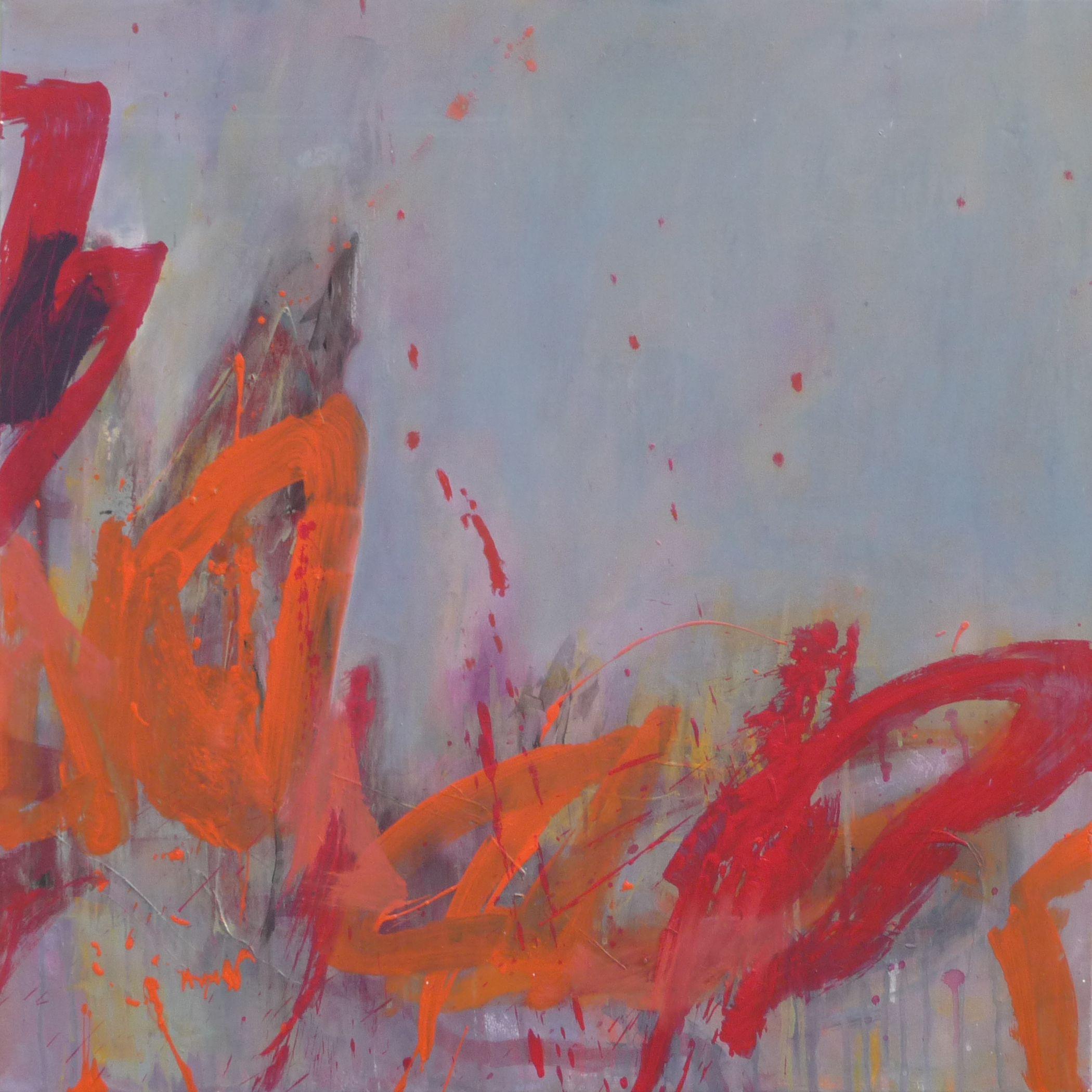 elisabeth gevrey, acrylique sur toile, 80 x 80 cm