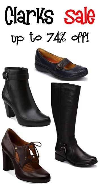 Clarks Boots and Shoe Sale ~ up to 74% off! @Design Hub Haws