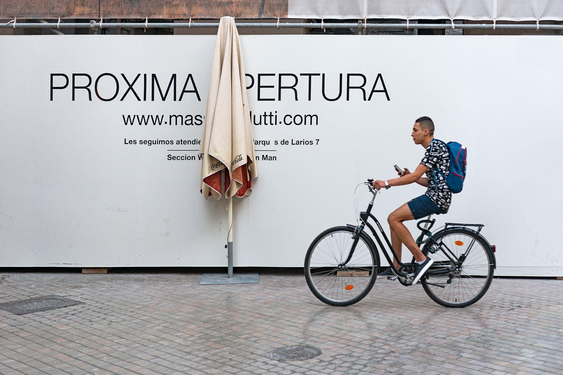 Próxima apertura… fotografía Calle Larios  de Málaga