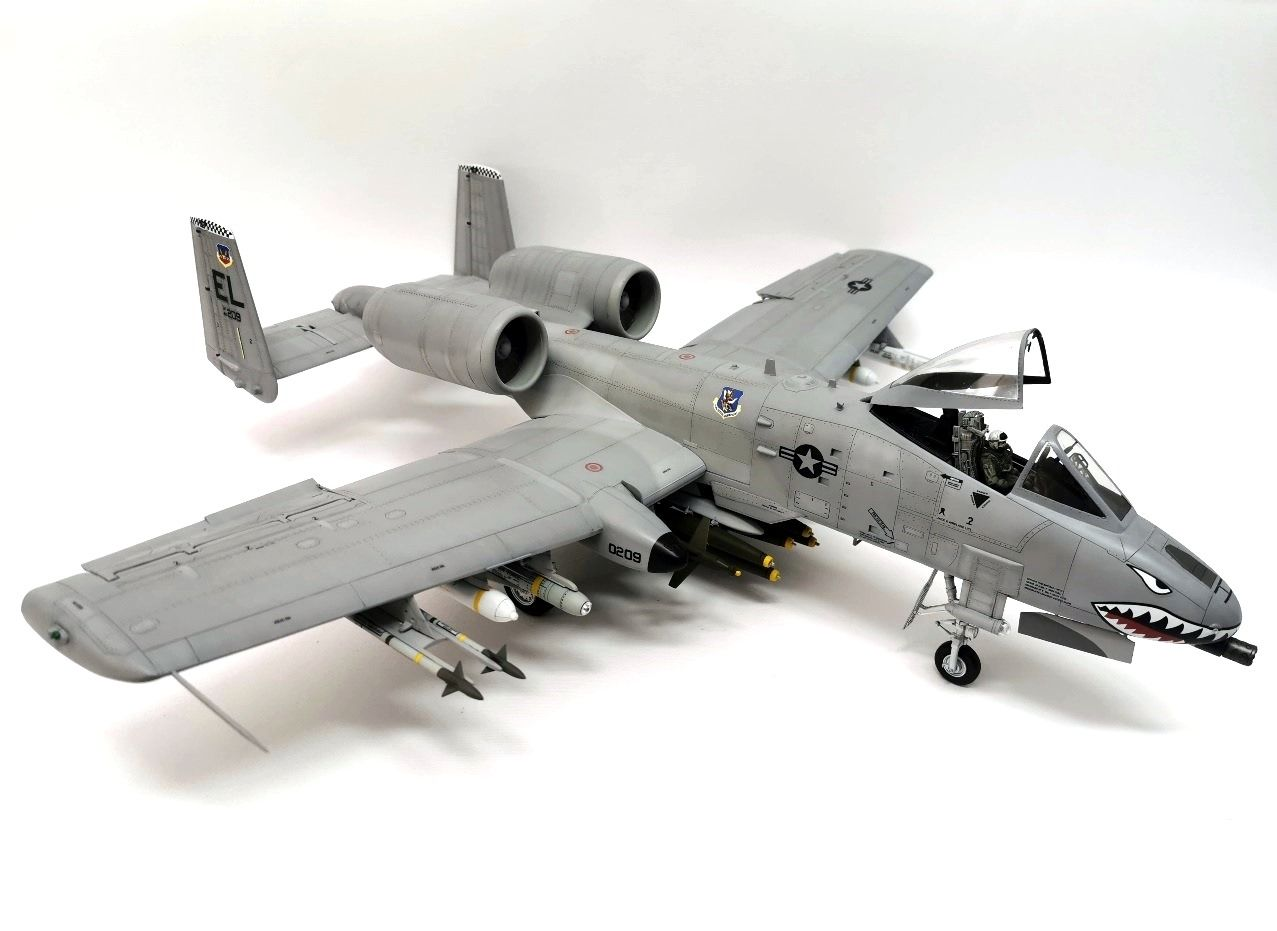 1 32 A 10a Thunderbolt Ii Trumpeter The Display Case Arc Discussion Forums Thunderbolt Trumpeter Aircraft Modeling