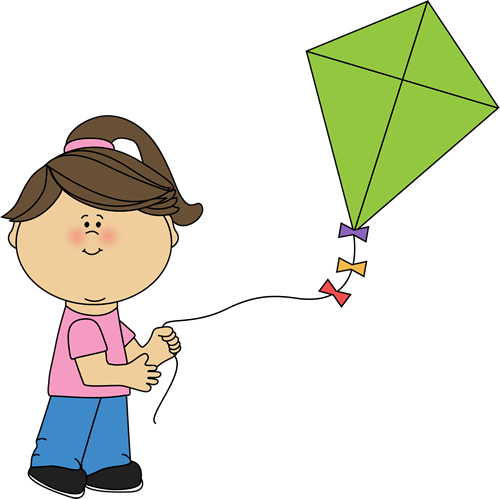 girl flying a kite spring summer printables pinterest kites rh pinterest com clip art kittens clip art kitten images