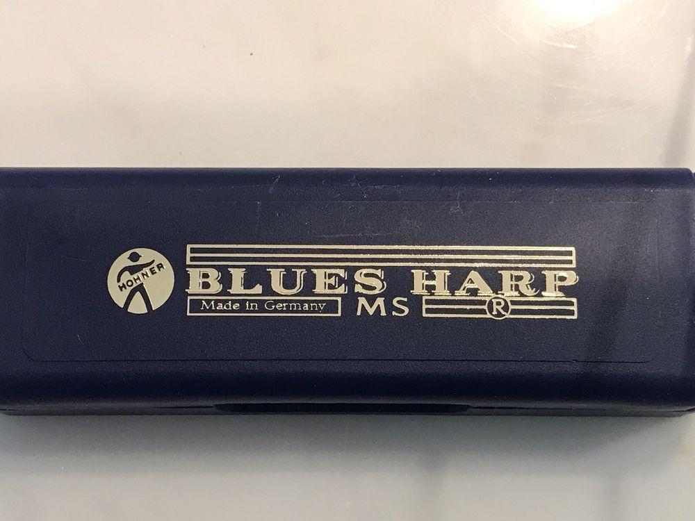 HOHNER BLUES HARP Harmonica KEY OF