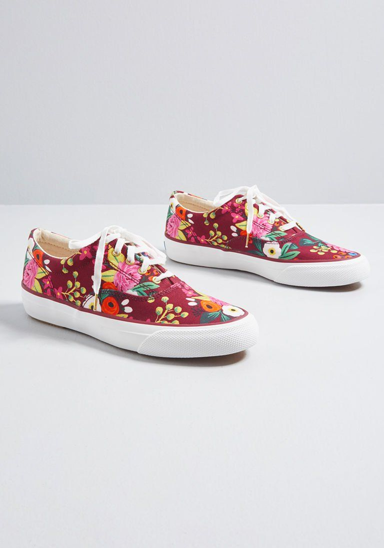 8065b4d1eb All Abuzz Canvas Sneaker in 5.5 by Keds from ModCloth