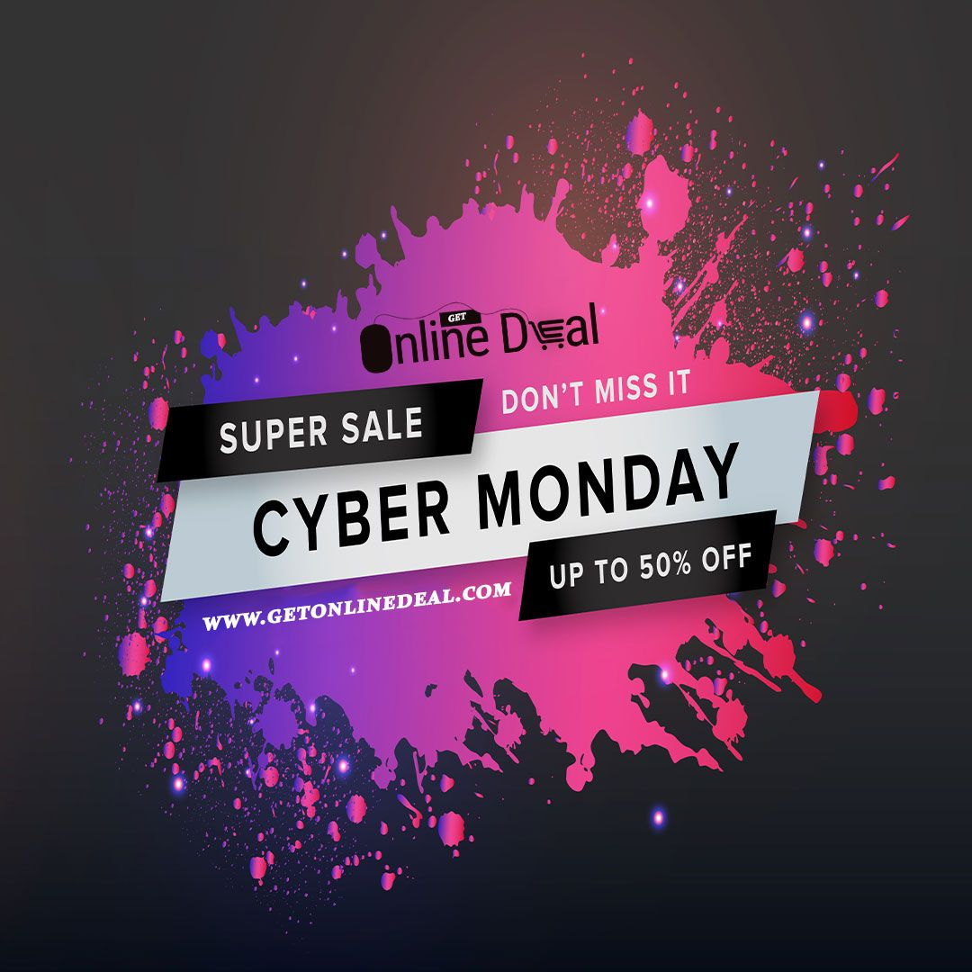 SUPER #CyberMonday2019 SALE !!  A few key Cyber #Mondaydeals 🥳🎉🎁have extended to Saturday, transitioning into a 'Cyber Week' full of discounts that somehow still exist online from getonlinedeal.  Don't miss it!!  Shop Now!  #Christmassale #MondayDeal #ChristmasShopping #Christmasishere #ChristmasShop #GetOnlineDeal #OnlineShopping #CyberMondayDeals #Christmasgifts #Christmastree
