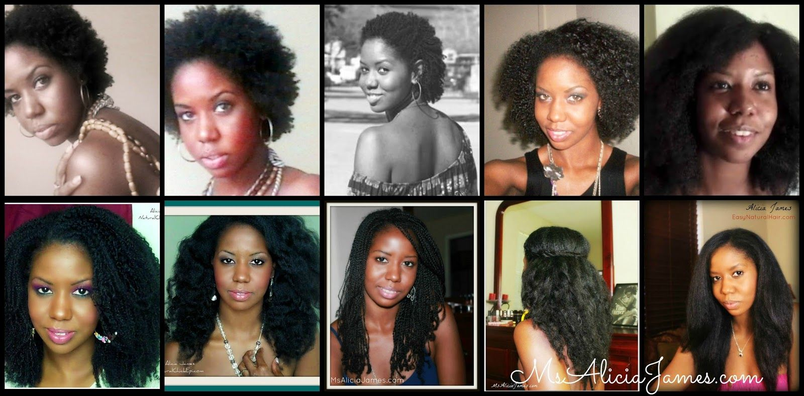 Natural hair journey from big chop to waist length curly nikki