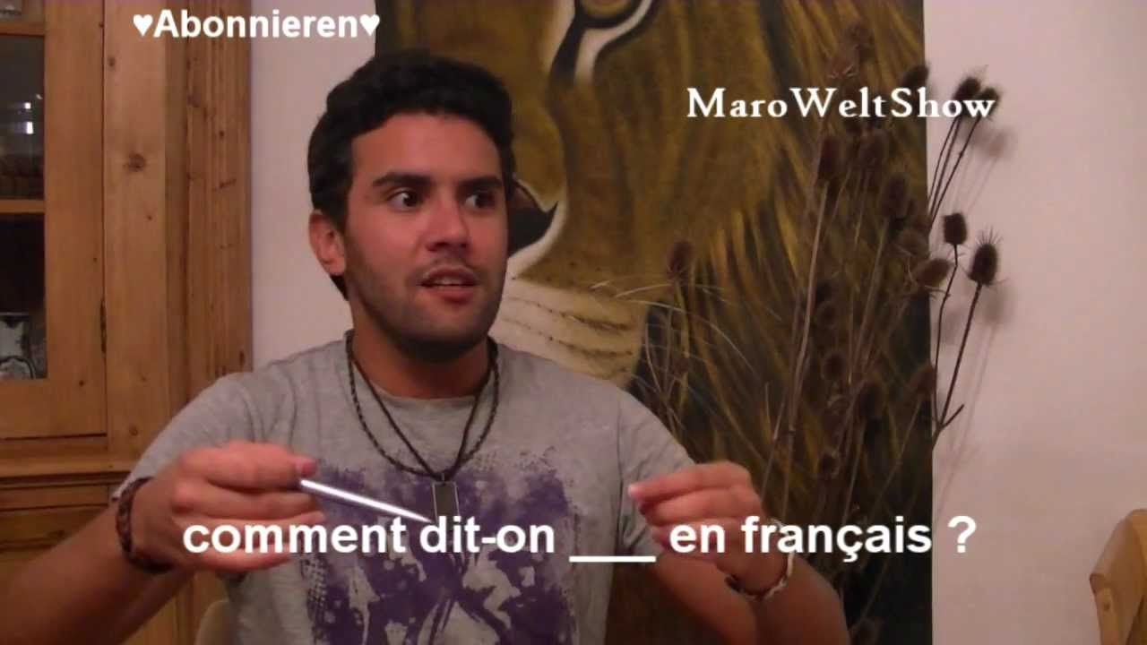 Wie heißt DAS DING auf Französisch? Lektion 14
