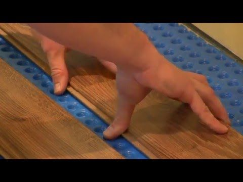 40 How To Install Drop And Lock Laminate Flooring Over 1 Step Subfloor Youtube Laminate Flooring Laminate Flooring