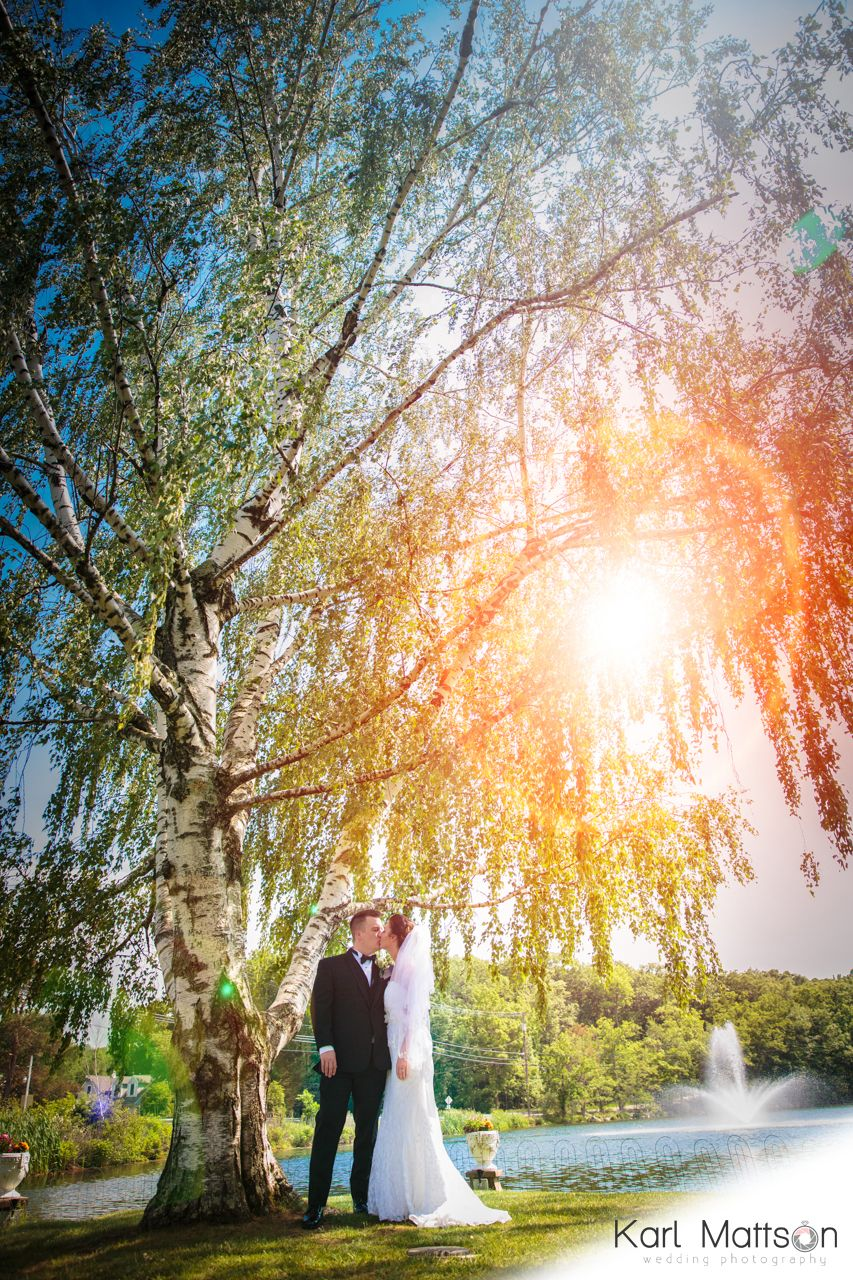 Bride groom perona farms andover nj june wedding birch