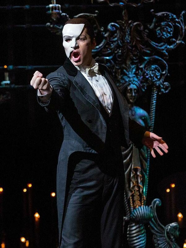 James Barbour as The Phantom in The Phantom of the Opera on Broadway