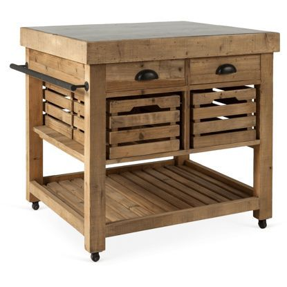 Autumnelle Design Marva Kitchen Island 37323  Autumn And Kitchens Simple Rustic Kitchen Cart Decorating Inspiration