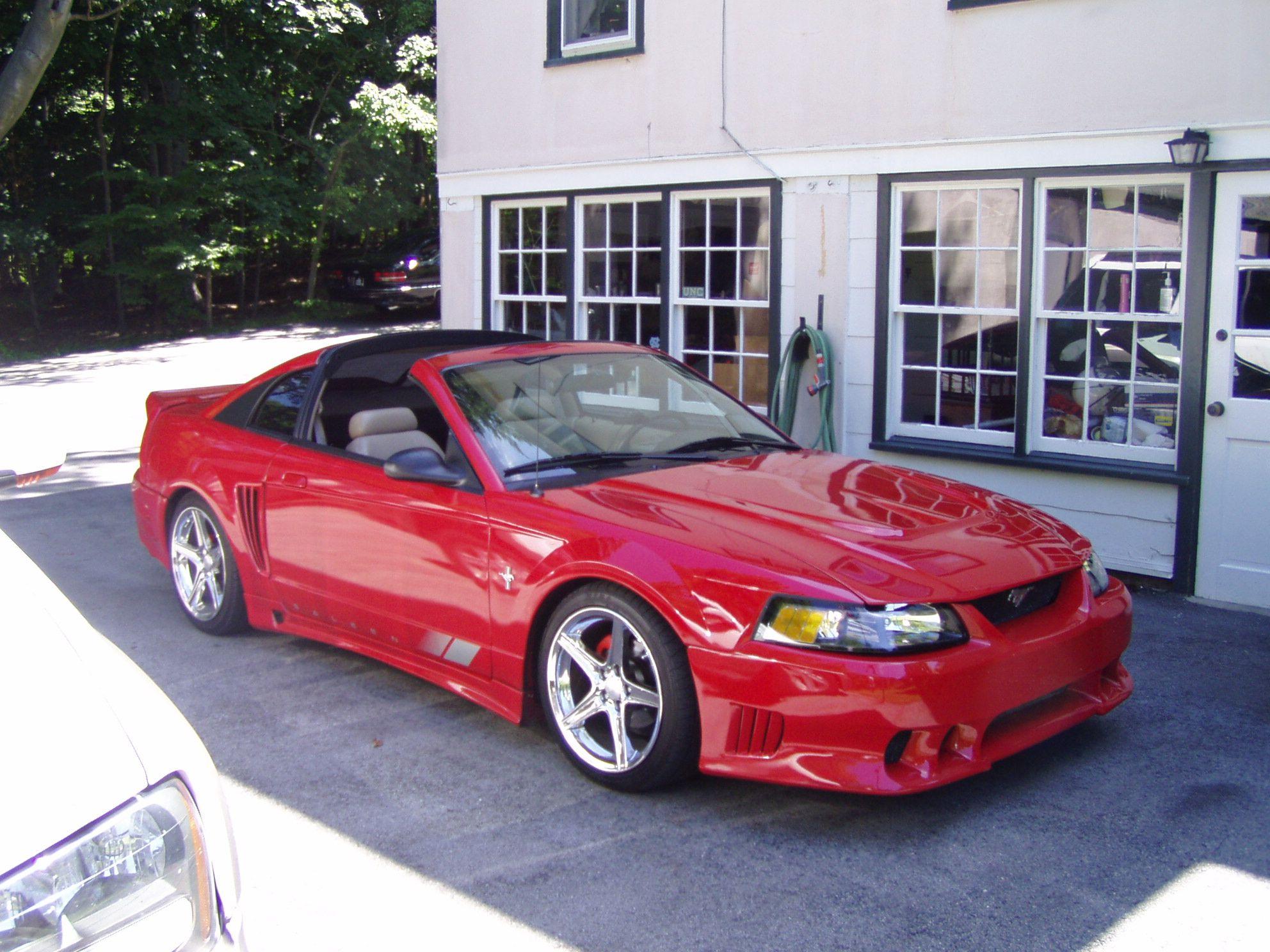 My Old 2000 Mustang Targa Top Conversion