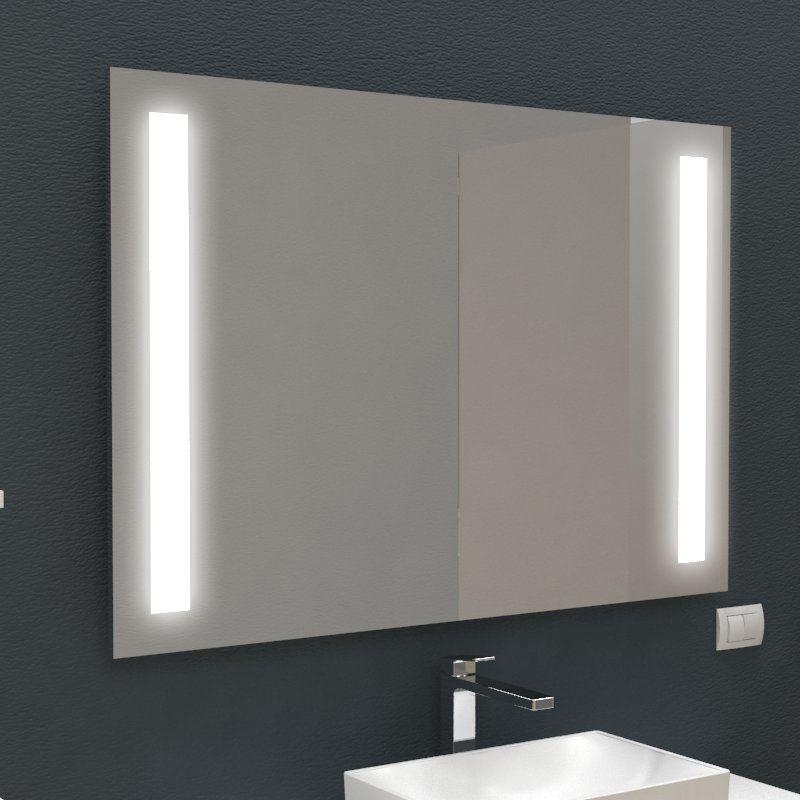 Specchi retroilluminati - Fasce interne LED | Glass