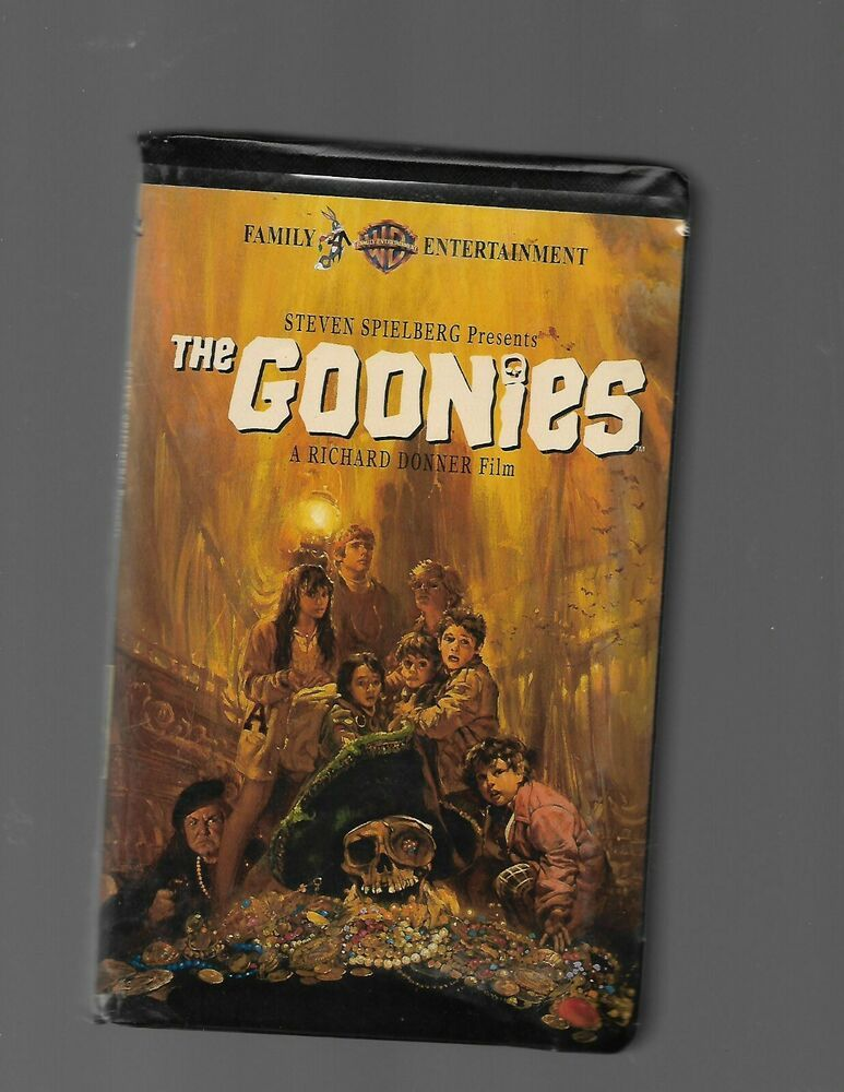 The Goonies Vhs Clam Shell