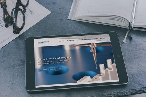 Neuer Webauftritt der PROHAN Industrieanlagen- bau GmbH mit TYPO3 CMS 7.