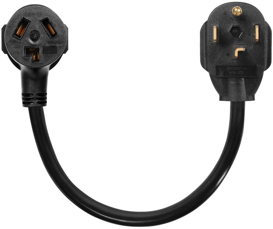 Dryer Adapter Cord Dryer Adapter 3 Prong To 4 Prong Nema 14 30p Male To 10 30r Female 30a 250v Dryer Cord A In 2020 Tech Accessories Accessories Electronic Products