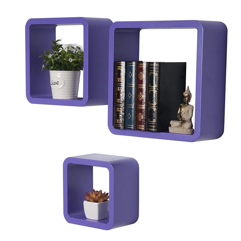 Wandregal Cube Stylisches Retro Regal Perfekt Fur Ein