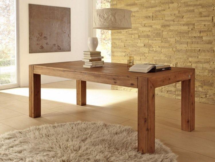 table en bois massif haut de gamme en 27 photos ! | tables
