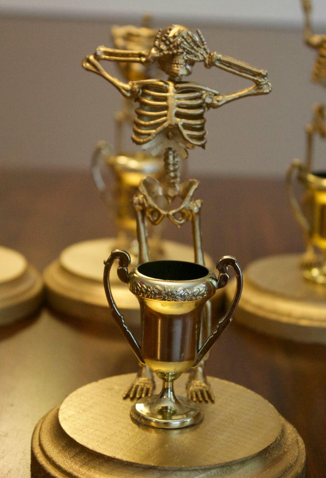 DIY Halloween Costume Contest Award Trophies | Costume contest ...