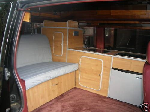 Chevrolet Astro Camper Interior Conversion Surf Day Van On Popscreen Campers Pinterest