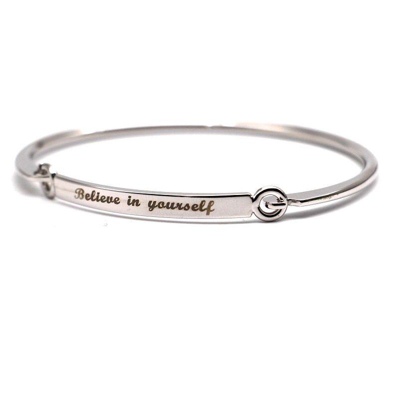 New Letter Bracelet Women Simple Best Friend Bracelets & Bangles ...