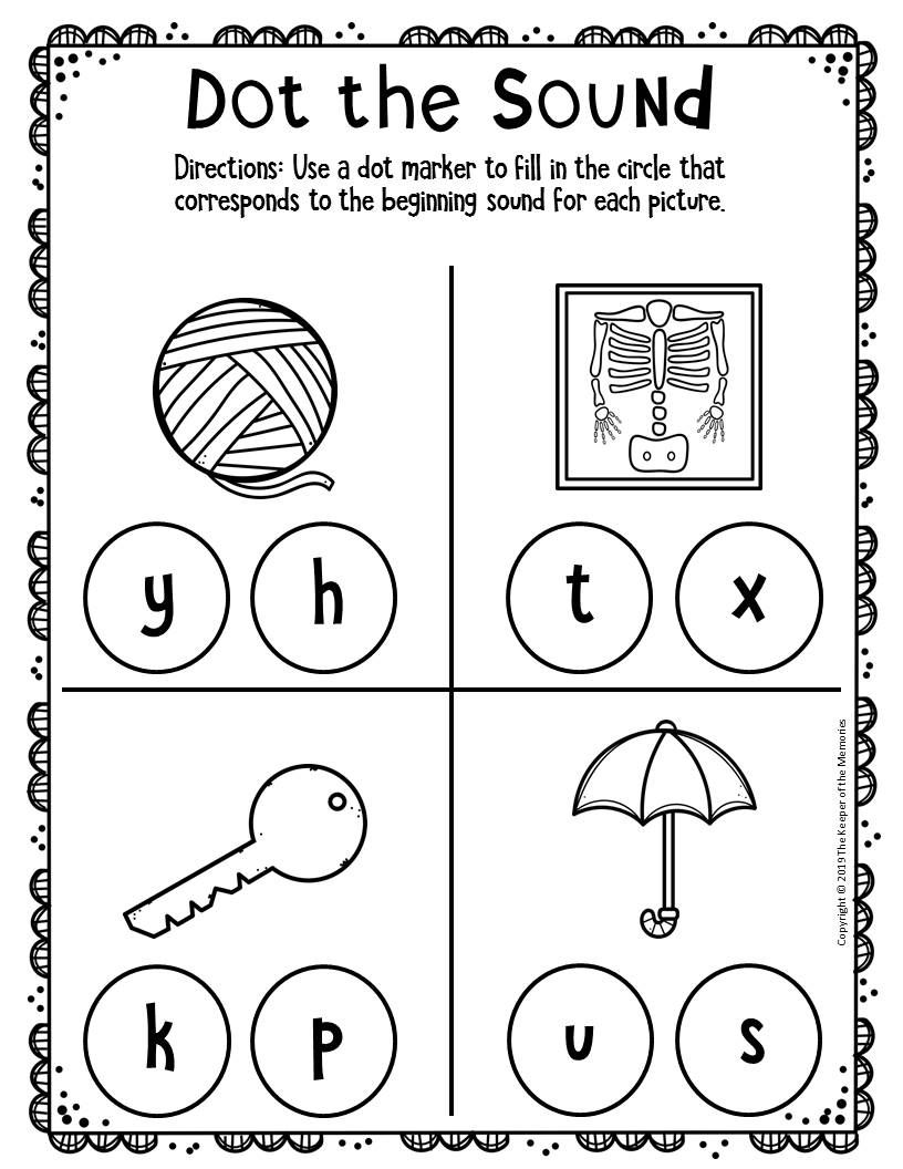 Free Printable Worksheets For Preschool Kindergarten Preschool