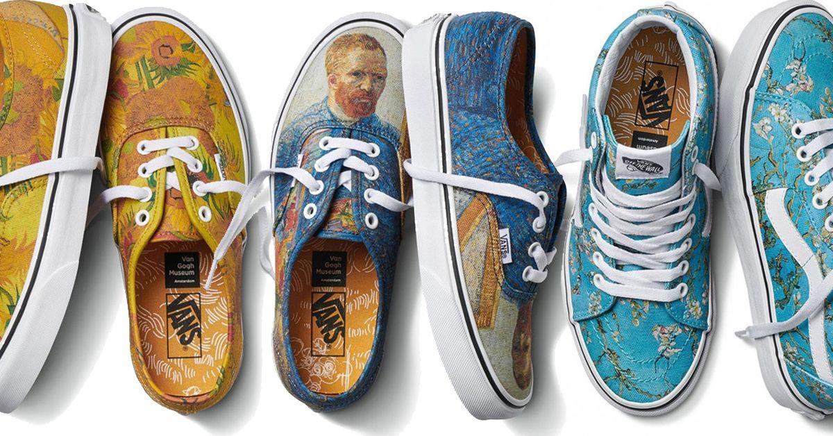 Vans Is Releasing a Van Gogh Fashion