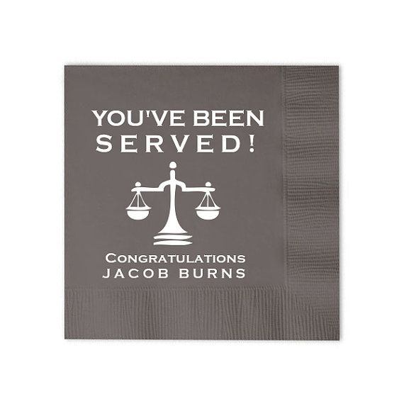 Wedding -Engagement Retirement Party Cocktail Embossed Napkins All Occasion Beverage