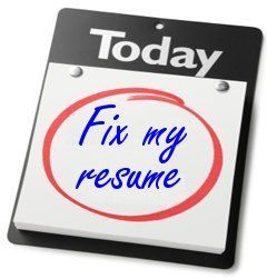 call to action check your resume for these common errors