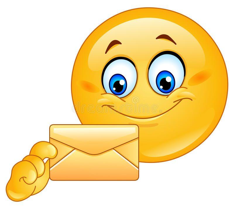 Emoticon With Envelope Design On An Emoticon With Envelope Ad Envelope Emoticon Emoticon Design Ad Emoticons Emojis Smiley Emoticon