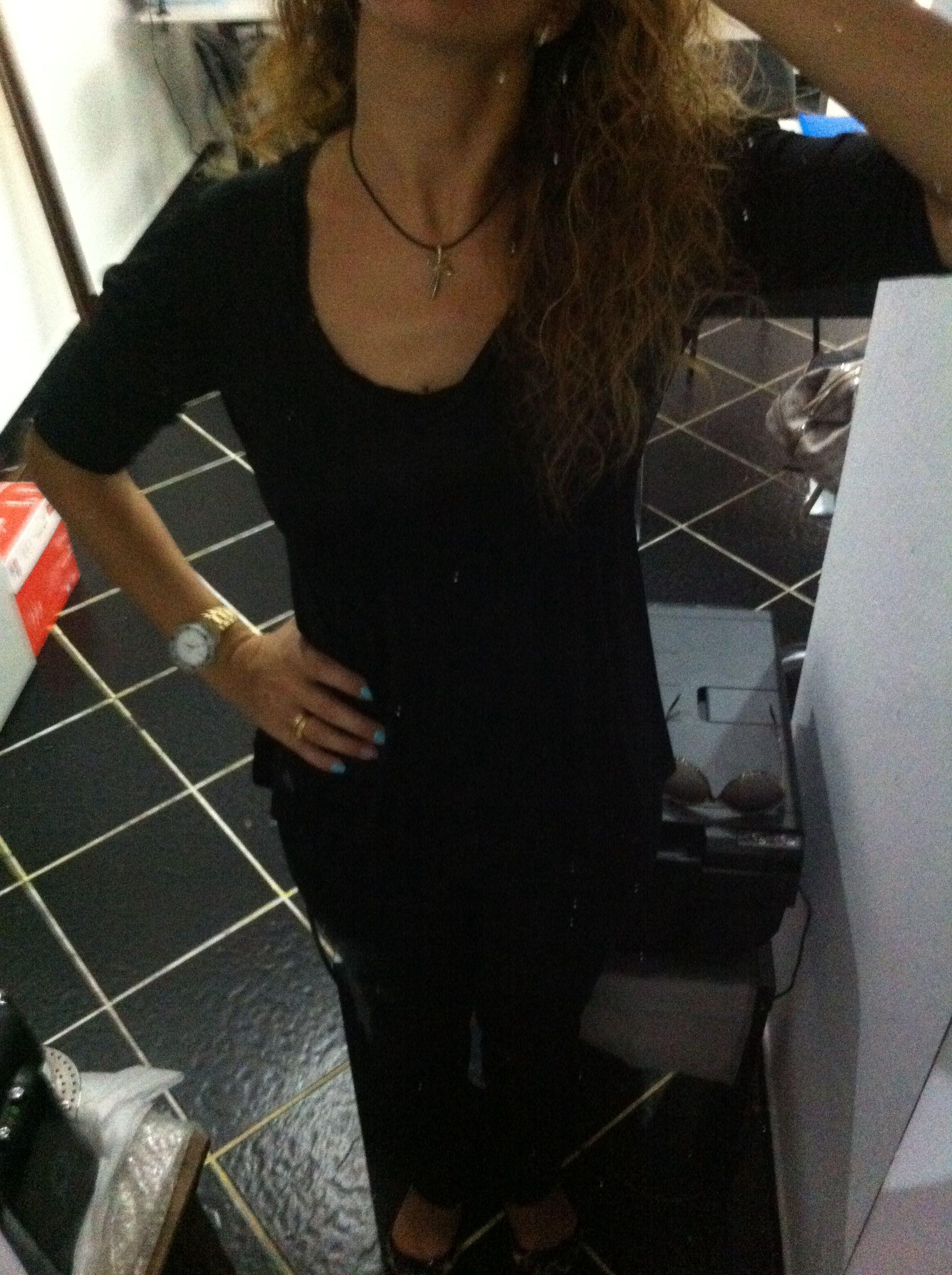 Preto total com blusa ana Sousa, a minha eleita nos pretos!
