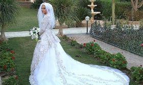 أقدم لكي سيدتي صور فساتين زفاف محجبات لعام ٢٠١٣ إخترنا لكم هذه المرة تشكيلة رائعة من صور فساتين أعراس للعرايس Wedding Dresses Dresses Wedding Dresses Lace
