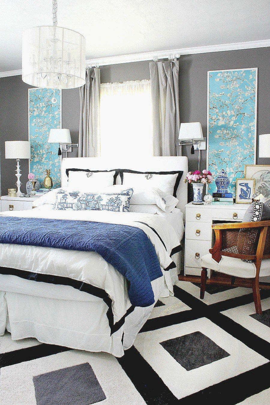 Bedroom Creator Online: Modern Chinoiserie Chic Bedroom Reveal