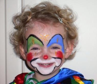bildergebnis f r kinderschminken clown kinderschminke. Black Bedroom Furniture Sets. Home Design Ideas