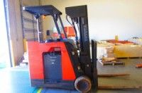 2010 Toyota 7BNCU20 4,000lb Electric Stand Up Counterbalanced Forklift http://www.heavyequipment.us/listings/2010-toyota-7bncu20-4000lb-electric-stand-up-counterbalanced-forklift/