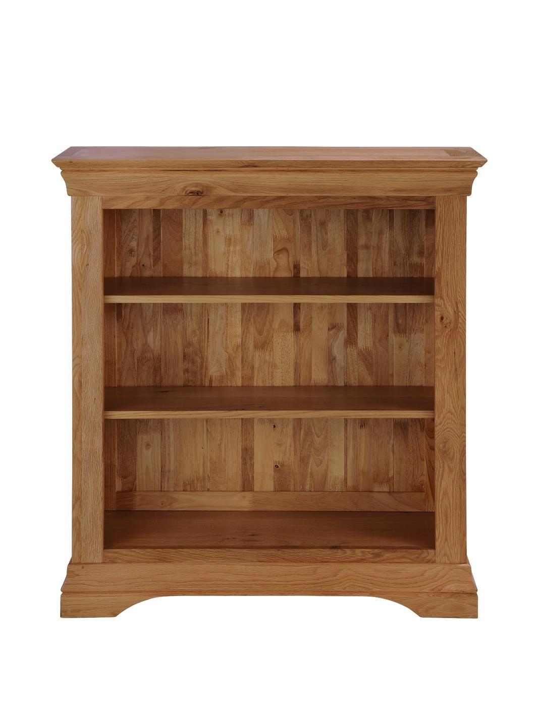Constance Oak Ready Assembled Bookcase Solid oak