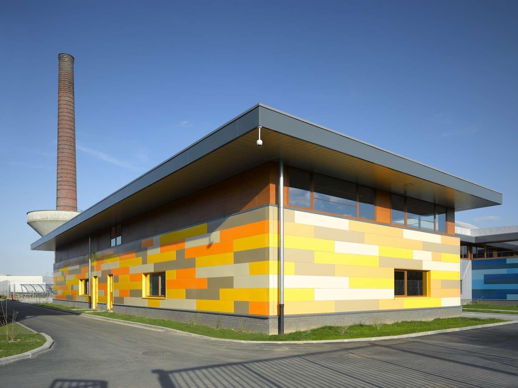 Newton park complex brussels belgium firm baeb bureau d