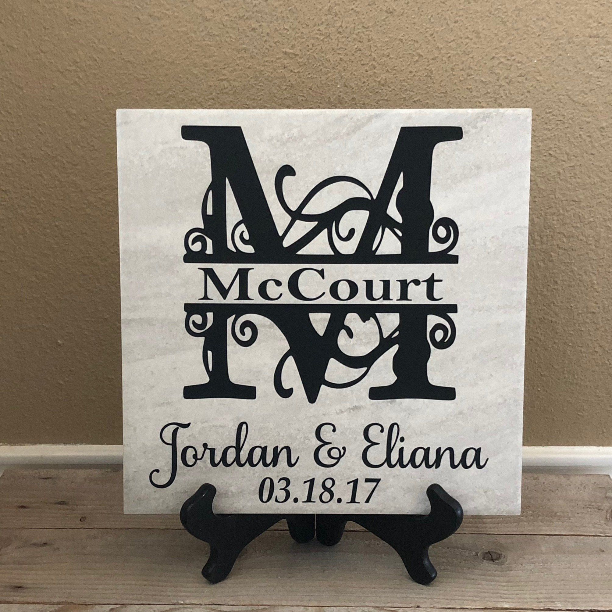 Wedding Gift Wedding Gift Personalized Gifts For Couple Gift Ideas Gifts For Bride Gift For Parents Wedding Signs Wedding Last Name In 2020 Personalized Wedding Gifts Newlywed Gifts Personalized Couple Gifts