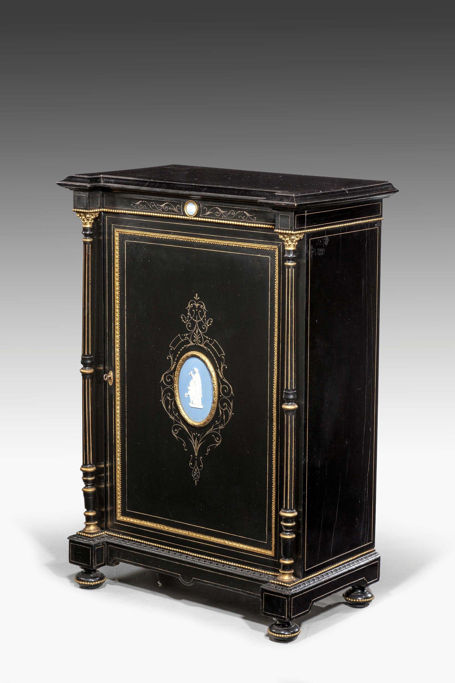 Late 19th Century Bone Inlaid Cupboard (Ref No. 5663)   Windsor House  Antiques